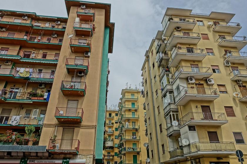 Vorort von Neapel
