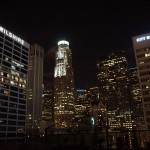 Blick Los Angeles Skyline
