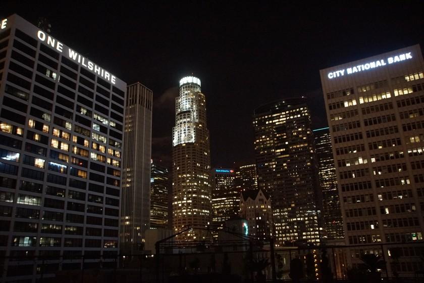 Blick Los Angeles Skyline